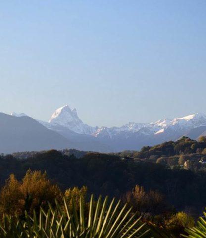 Pic du Midi d'Ossau depuis le boulevard des Pyrénées