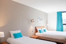 Studio Triple Appart'hôtel Bordeaux Victoria Garden - Chambre