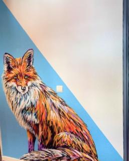 Graffitis d'A-mo et Selor - Appart'hôtel Victoria Garden