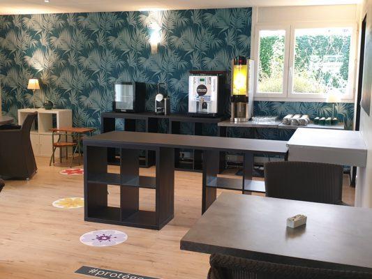 Salle petit déjeuner - Appart'hôtel Victoria Garden