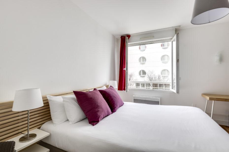 Chambre - Studio Supérieur Double Appart hôtel à Pau Victoria Garden