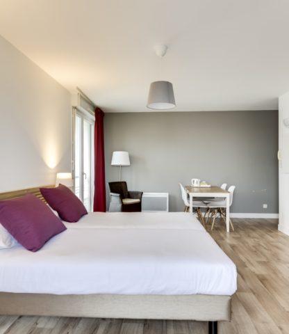 Appart hôtel Chambre Suite Junior Pau Victoria Garden