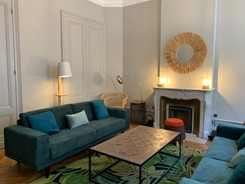 Salon - La Maison Manège Victoria Garden Bordeaux