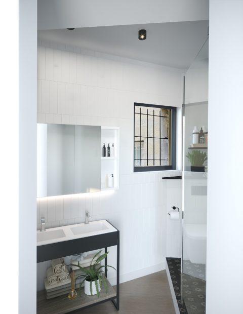 Salle de bain - La Maison Manège Victoria Garden Bordeaux