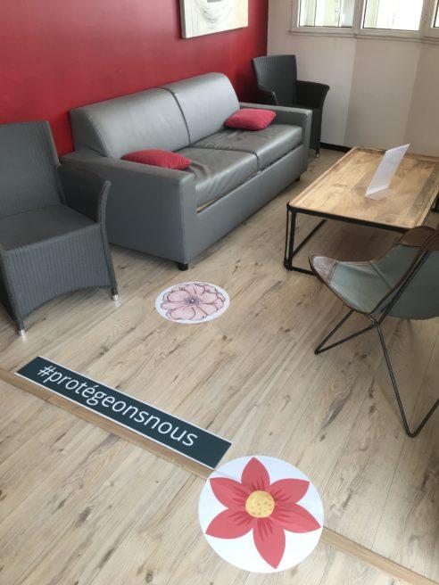 Salon d'attente Victoria Garden