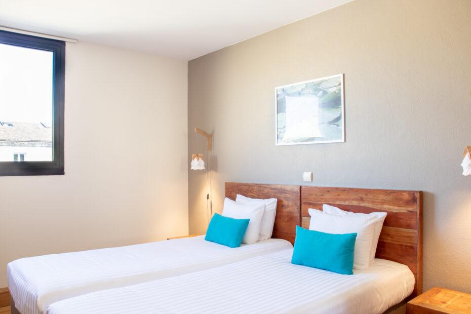 Chambre d'hôtel à Bordeaux - lits jumeaux Studios Lits Jumeaux Victoria Garden