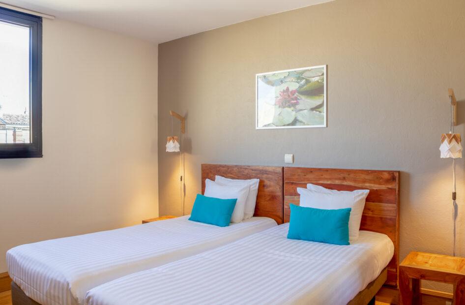Chambre d'hôtel à Bordeaux - Studios Lits Jumeaux Victoria Garden