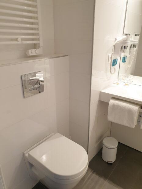 Chambre d'hôtel à Bordeaux - Salle de bain Studio Lits Jumeaux Victoria Garden